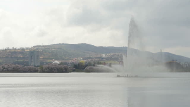 view of bomun lake in gyeongju - north gyeongsang province stock videos and b-roll footage