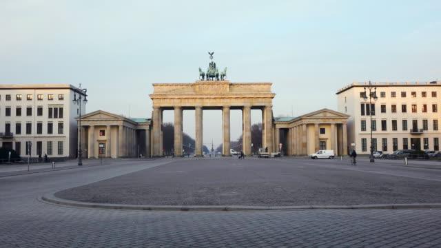 WS View of Brandenburg Gate at Pariser Platz / Berlin, Germany