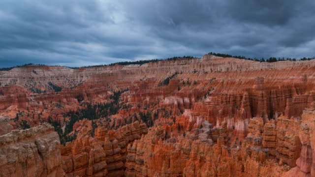 View of Bryce canyon National Park
