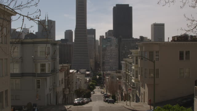 ws view of buildings skyline / san francisco, california, united states - 2k resolution stock videos and b-roll footage