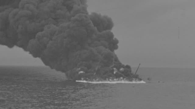 WS View of Burning boat