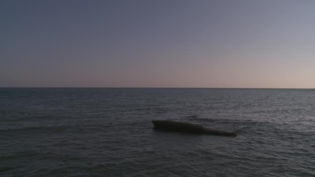 stockvideo's en b-roll-footage met ws view of cala de enmedio sea at cabo de gata natural park / agua amarga, andalusia, spain - agua