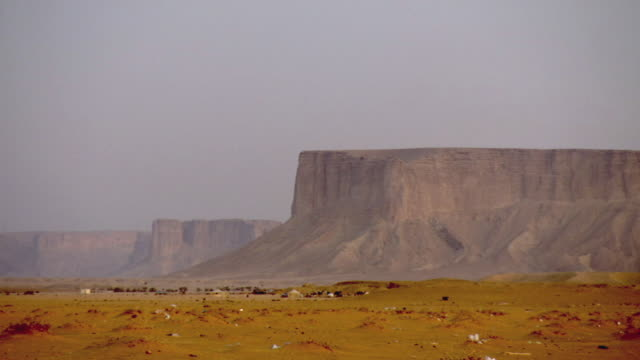 ws view of canyon / riyadh city, riyadh, saudi arabia - riyadh stock videos & royalty-free footage