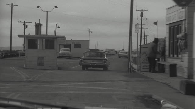 ms pov view of car running on harbor bridge - 1962 stock videos and b-roll footage