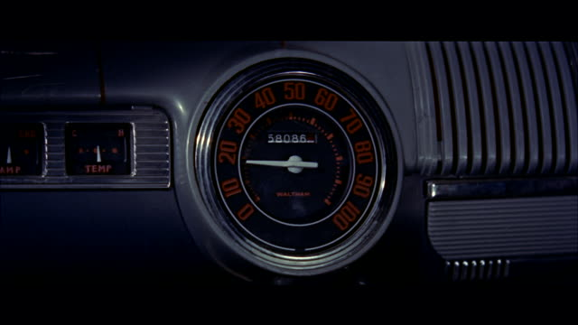 cu view of car speedometer - speedometer stock videos & royalty-free footage