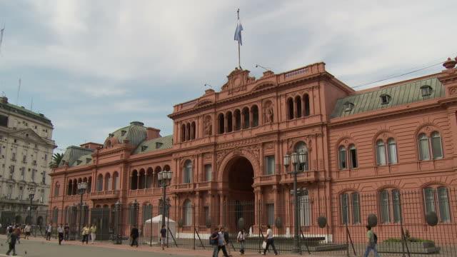 View of Casa Rosada in Buenos Aires, Argentina
