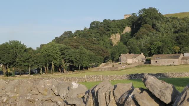 View of Castleton, Hope Valley, Derbyshire, England, UK, Europe