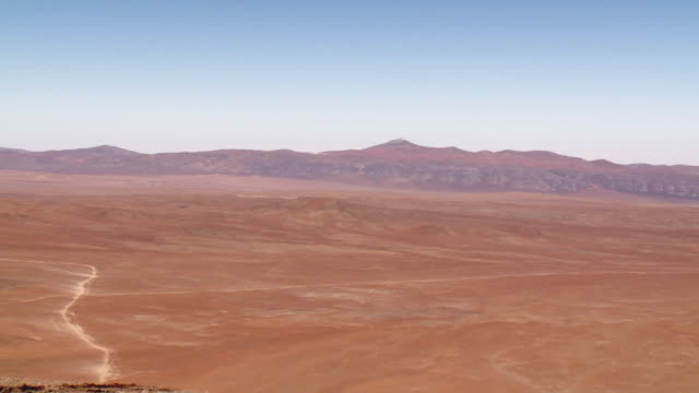 WS PAN View of chile attacama desert / Paranal, Attacama, Chile