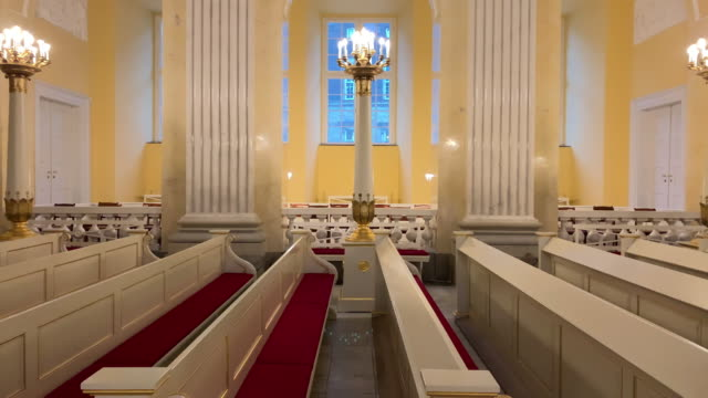a view of christiansborg castle church in copenhagen denmark on december 16 2018 - oresund region stock videos & royalty-free footage