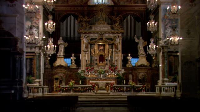 WS ZO View of church of Santa Maria in Aracoeli / Rome, Italy