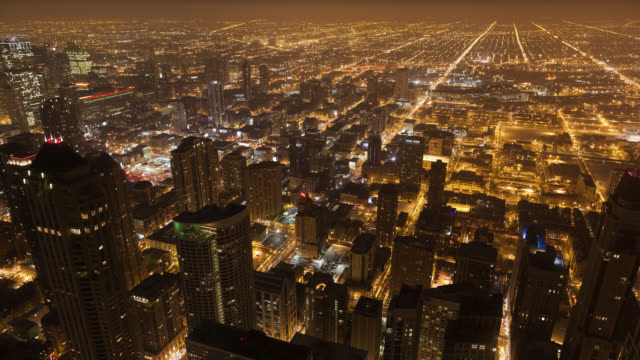 WS T/L View of city / Chicago,Illinois, United States