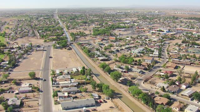 WS AERIAL View of City / El Paso, Texas, United States