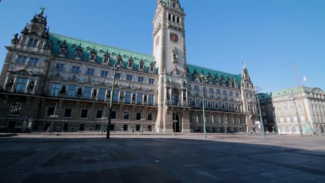 WS TD View of city hall / Hamburg, Hamburg, Germany