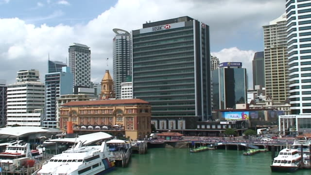 WS PAN TD View of City of Auckland / Auckland, New Zealand
