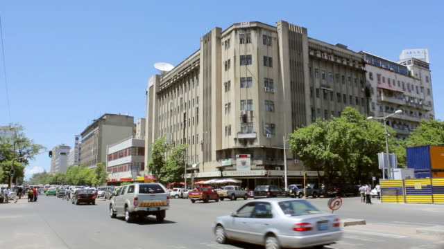 vídeos de stock e filmes b-roll de ws view of city of maputo / maputo, mozambique - moçambique