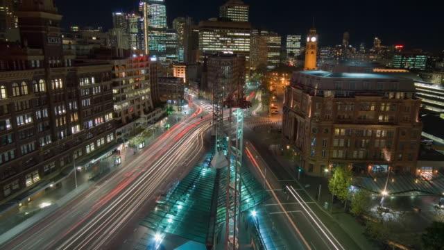 WS T/L ZI View of city / Sydney, New South Wales, Australia