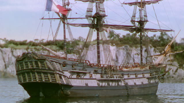 MS View of Clipper ship