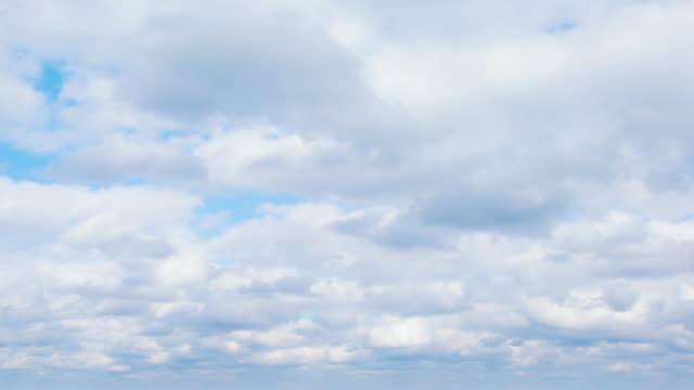 MS T/L View of clouds in sky / Ulleunggun, Gyeongsangbukdo, South Korea