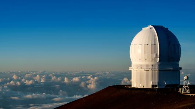 View of cloudscape at 4300 altitudes from Mauna kea, Big Island
