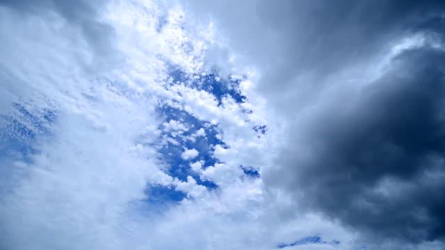 WS T/L View of cloudscape / Jeju, Jeju-do, South Korea