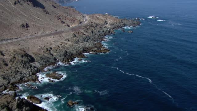 View of coastal Chilean road