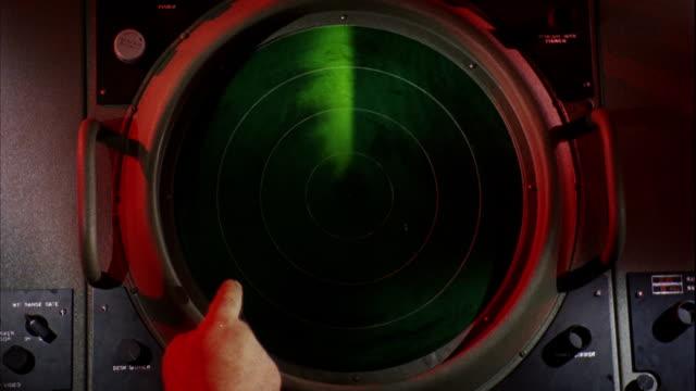 cu view of cockpit / philadelphia,pennsylvania,united states - radar stock videos & royalty-free footage