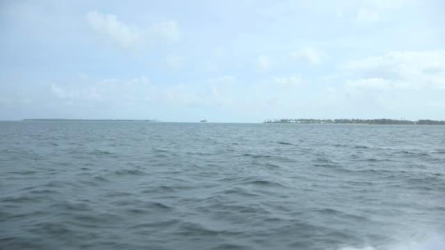WS POV View of Cocos Islands / Keeling, Shire of Cocos, Australia