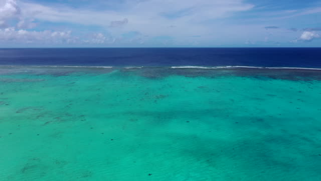 view of cocos islands (guam) - guam stock videos and b-roll footage