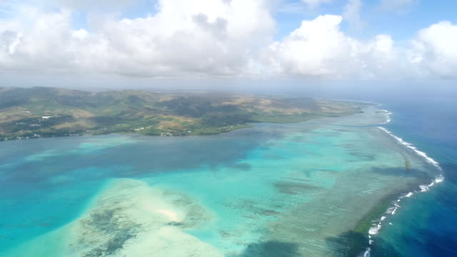View of  Cocos Islands (Guam)