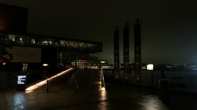 a view of copenhagen denmark on december 18 2018 - oresund region stock videos & royalty-free footage