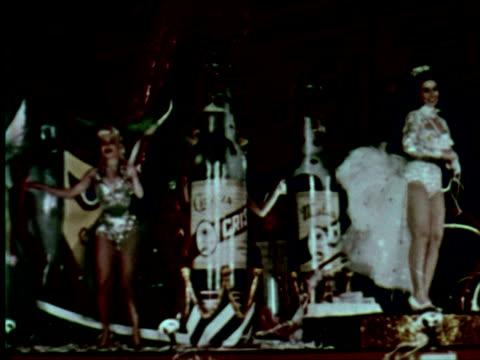 ms view of dance, belgrade, yugoslavia / audio - cuban culture stock videos & royalty-free footage