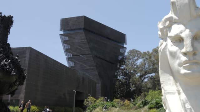 View of De Young Museum in Golden Gate Park, San Francisco, California, United States of America, North America