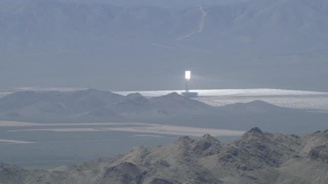 """WS AERIAL ZO View of desert / New York City, United States"""