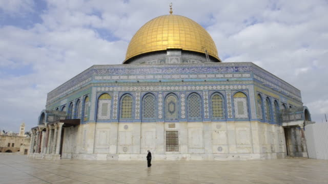 View of Dome of the Rock.