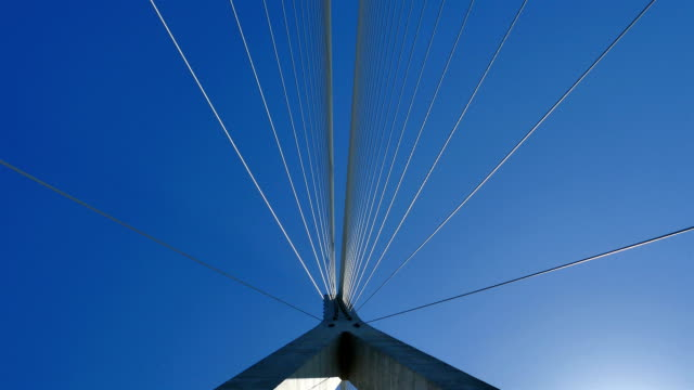 pov view of driving over incheon bridge - below stock videos and b-roll footage