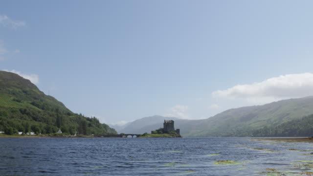 View of Eilean Donan Castle in Scotland