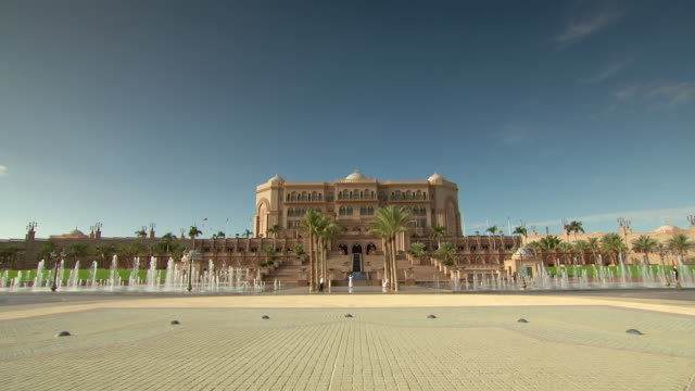 WS ZI View of Emirates Palace / Abu Dhabi, United Arab Emirates