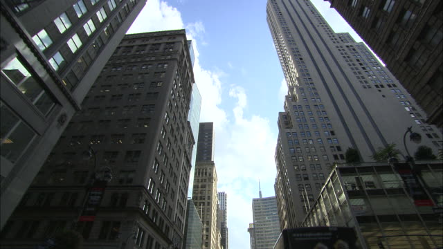 WS POV View of Empire state building / New York City, New York, USA