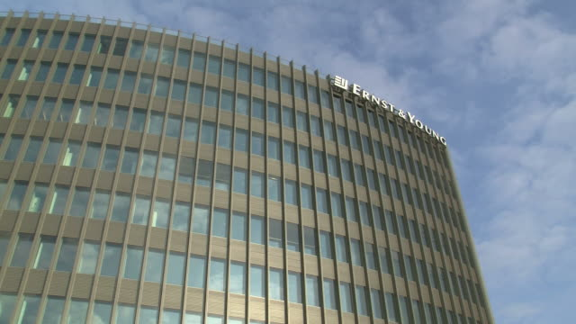 stockvideo's en b-roll-footage met ms view of ernest building / berlin, germany - westers schrift
