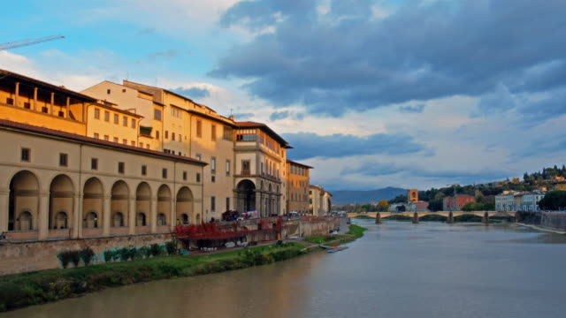 view of florance cityscape against sky - florence stock videos and b-roll footage