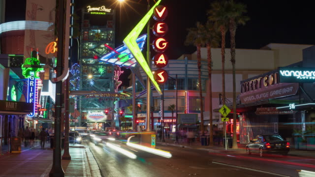 80 Top Fremont Street Las Vegas Video Clips And Footage