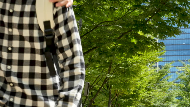 vídeos y material grabado en eventos de stock de view of friends encountering at roadside and greeting with their elbows and then walk away with arms around each other's shoulder - articulación humana
