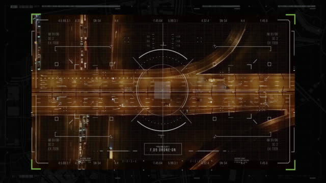 view of futuristic interface/digital screen.detailed abstract background with blinking and switching indicators and statuses showing work of the police command center. - big brother orwellian concept stock videos & royalty-free footage