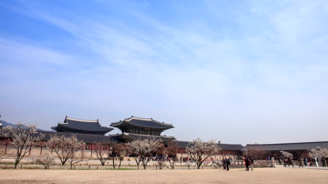 View of Geunjeongmun Gate of Gyeongbokgung Palace (royal palace of the Joseon dynasty)