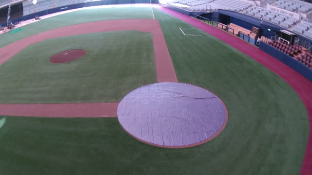 View of Gocheok Sky Dome Baseball Park