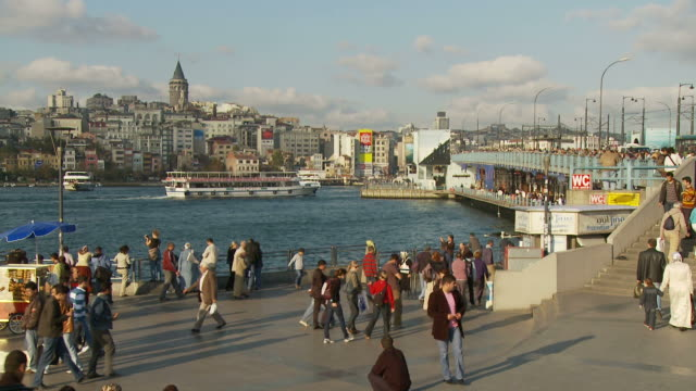 View of Golden Horn in Istanbul, Turkey