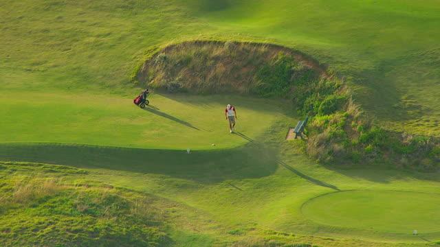 WS AERIAL ZO View of golf course / Adelaide, South Australia, Australia