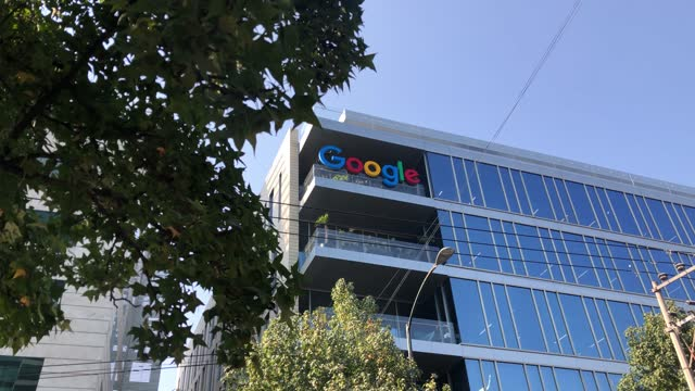 view of google mexico head office on december 22, 2020 in mexico city, mexico. google achieved record revenue despite the pandemic. the net giant... - big data stock videos & royalty-free footage