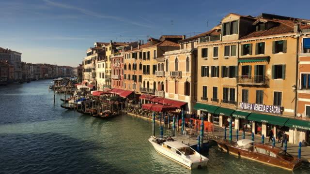 View of Grand Canal From Rialto Bridge, Venice, Italy