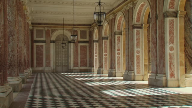 WS View of Grand trianon room / Versailles, Ile de France, France